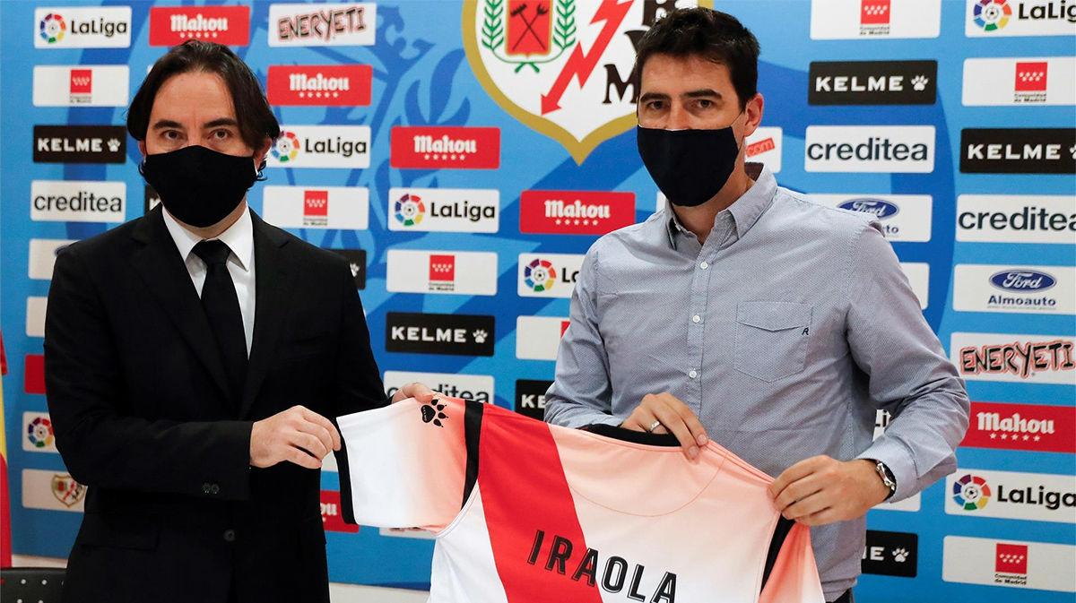 Iraola: Pertenecer a este club siempre me ha hecho una ilusión tremenda