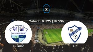 Jornada 12 de la Tercera División: previa del partido Güímar - Buzanada
