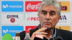 Juan Carlos Oblitas es el gerente deportivo de la Federación Peruana