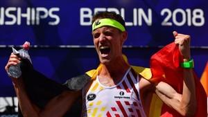 Koen Naert, nuevo campeón de Europa de maratón