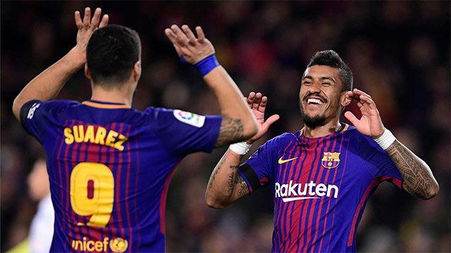 LALIGA | Barça - Deportivo (4-0): Paulinho marcó el 2-0