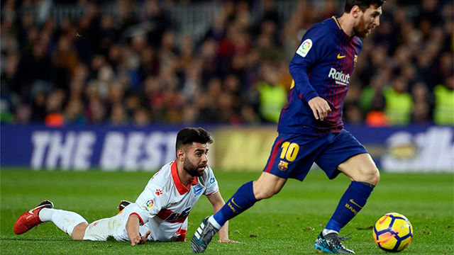 LALIGA | FC Barcelona - Alavés (2-1): Messi rompió a Rubén Sobrino con un soberbio regate