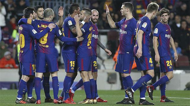 LALIGA FCB | Barça - Deportivo (4-0)