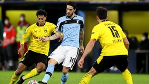 La Lazio mejoró en la segunda mitad