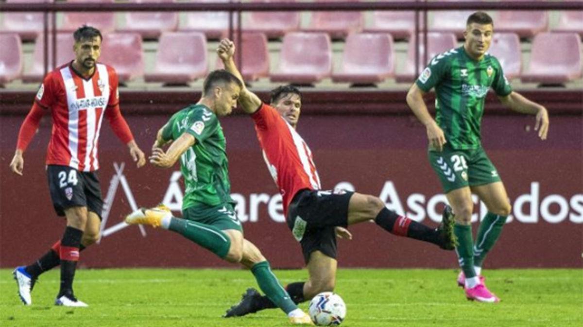 El Logroñés suma un punto ante el Castellón gracias a un gol en el 93