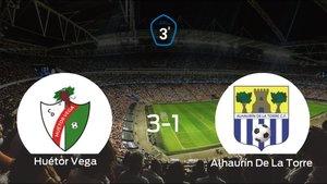 Los tres puntos se quedan en casa: Huétor Vega 3-1 Alhaurín De La Torre