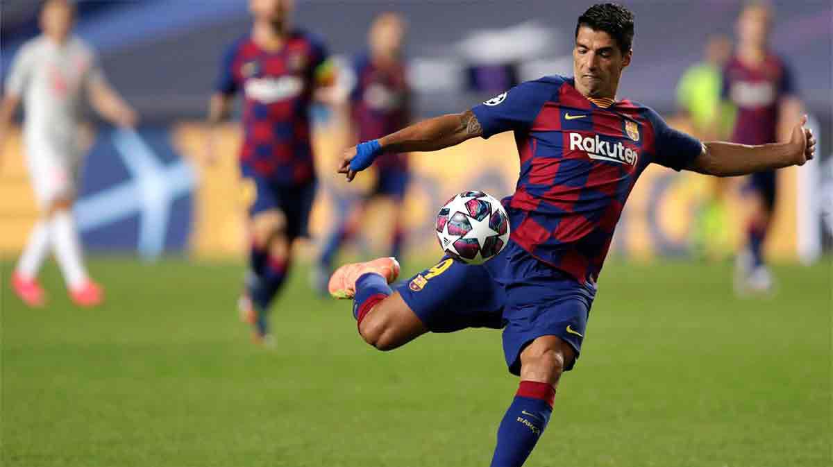 Luis Suárez, la marcha del 9 perfecto del Barcelona