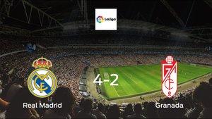 Madrid cruise to a 4-2 win vs. Granada at Santiago Bernabeu