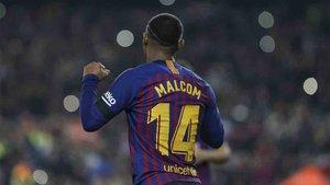 Malcom no tiene minutos en el Barcelona