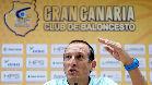 Maldonado, ilusionado por entrenar al Gran Canaria