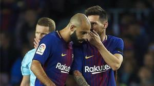 Si Mascherano se fuera, Messi perdería a uno de sus íntimos en el vestuario azulgrana