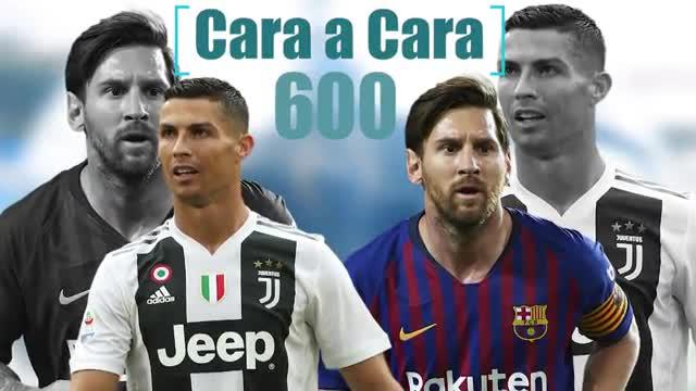 Messi vs Cristiano - 600 goles cara a cara