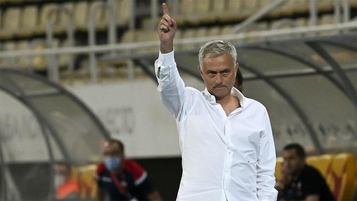 Mourinho explica cómo descubrió que las porterías eran pequeñas