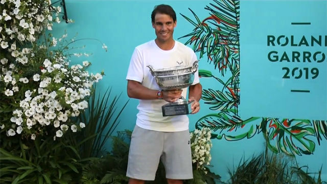 Nadal luce su 12º Roland Garros