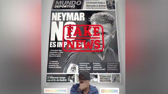Neymar carga contra quienes hablan de su regreso al Barça