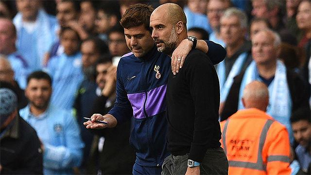 Pochettino desvela su conversación con Guardiola