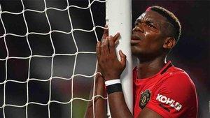 Pogba sigue de baja en el Manchester United