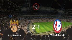 El Pontevedra se impone por 2-1 al Rayo Majadahonda