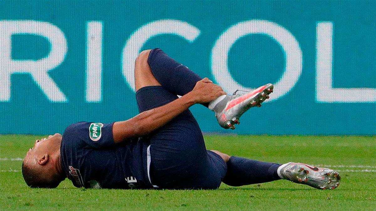 El PSG confirma que Mbappé podría recuperarse en tres semanas