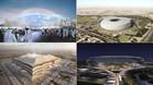 Qatar está contruyendo estadios espectaculares para el Mundial de 2022