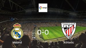 Real Madrid plays to a goalless draw against Athletic at Santiago Bernabeu