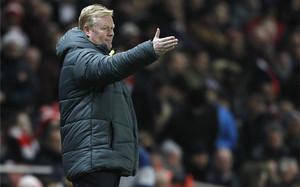 Ronald Koeman, mejor entrenador de la Premier League en enero