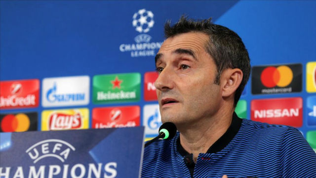 La rueda de prensa de Valverde previa al partido contra la Juventus