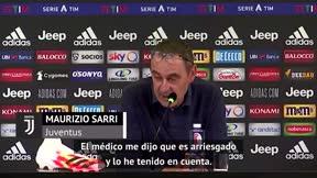 Sarri explica la ausencia de Pjanic