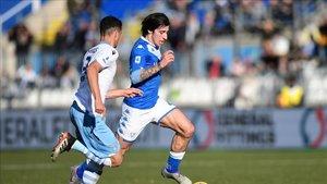 Tonali, jugador del Brescia