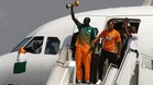 Touré levanta la Copa a la llegada a Costa de Marfil del campeón en 2015