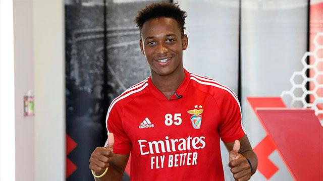 Umaro Mbaló, el amigo de Ansu Fati que mima el Benfica