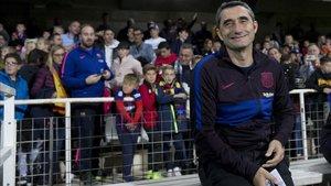 Valverde, en el estadio Cartagonova