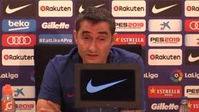 Valverde habló sobre la incorporación de Arthur