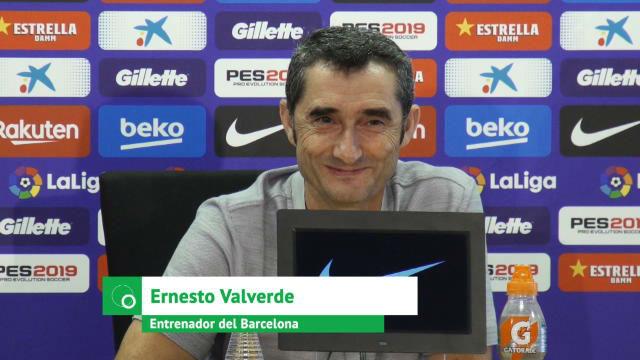 Valverde ofrece jugar a su jefe de prensa