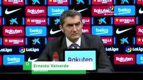 Valverde: No sé qué ha dicho, pero a mí a veces me resulta difícil hablar con Dembélé