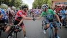 Valverde y Yates se retan por la Vuelta en Andorra.