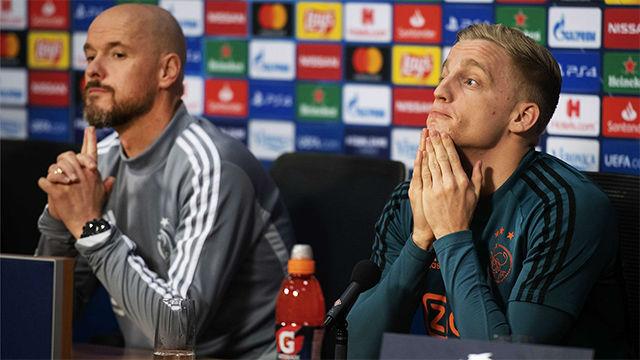 Van de Beek prefiere no pensar en el Real Madrid: Hay cosas más importantes en este momento