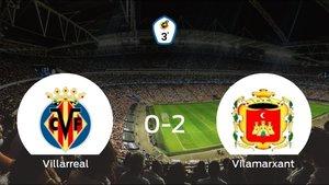 El Vilamarxant se queda con los tres puntos tras derrotar 0-2 al Villarreal C