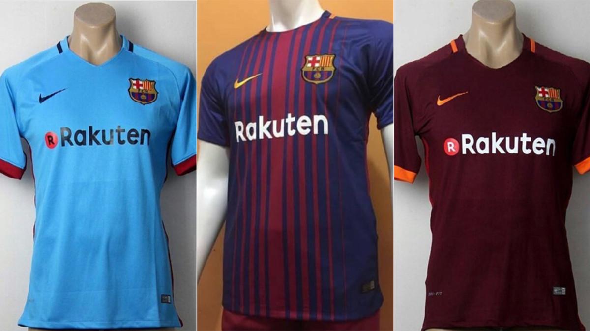 segunda equipacion Barcelona deportivas