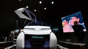 Toyota I ride Concept Car
