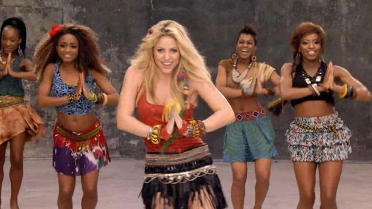 Shakira sigue cosechando éxitos con 'Waka Waka'