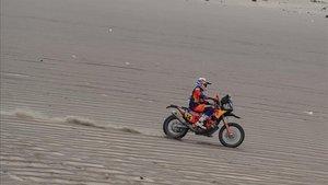 Sunderland ha ganado la sexta etapa del Dakar