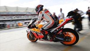 Marc Márquez consigue su séptima pole en el GP de las Américas de MotoGP