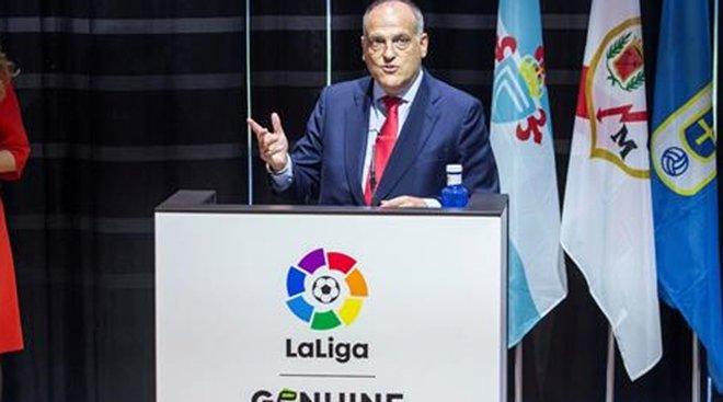 Acto de clausura y entrega de trofeos de LaLiga Genuine Santander 2018-2019