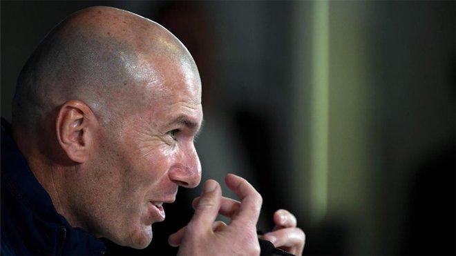 Sigue en directo la rueda de prensa de Zidane, previa al Borussia Moenchengladbach-Real Madrid