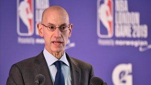 Adam Silver admitió pérdidas en la NBA