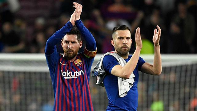 Alba, sobre Messi: Hay que disfrutarlo mientras esté con nosotros