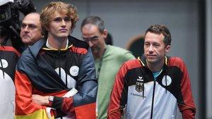 Alexander Zverev disputó los clasificatorios con Alemania