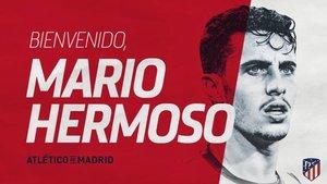 El anuncio oficial del Atlético del fichaje de Mario Hermoso
