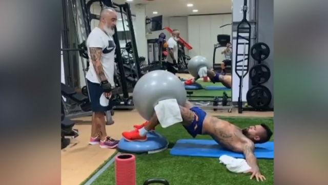 Así se prepara Arturo Vidal a expensas de cerrar su fichaje por el Inter